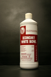 ECONOMY WHITE BOWL CLEANER # 26