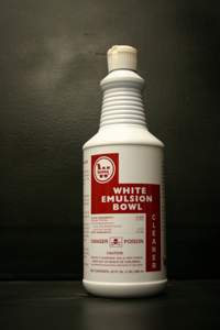 WHITE EMULSION BOWL CLEANER #25
